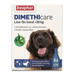 Beaphar Dimethicare Line-On Hund ab 30 kg - 6 Pipetten