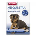 Beaphar Milquestra Kleine Hond/Pup (0,5 - 10kg) - 2 Tabletten | Petcure.nl