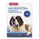 Beaphar Milquestra Grote Hond (5 -25kg) - 4 Tabletten