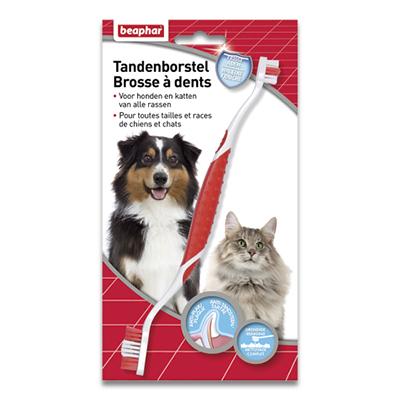 Tandenborstel - Hond/Kat - 1 st | Petcure.nl