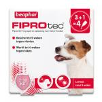 FiproTec Spot-on Chien (2-10 kg) - 4 pipettes