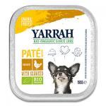 Yarrah Bio Paté Hond - 12 x 150 g Alu (Kip, Zeewier) | Petcure.nl