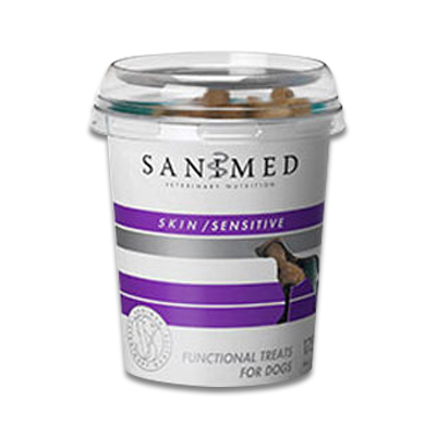 SANIMED Skin Sensitive Functional Treats Hond - 175 g