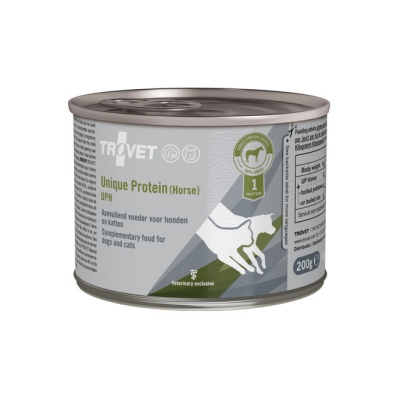 TROVET Unique Protein (Paard) UPH - 6 x 200 g | Petcure.nl