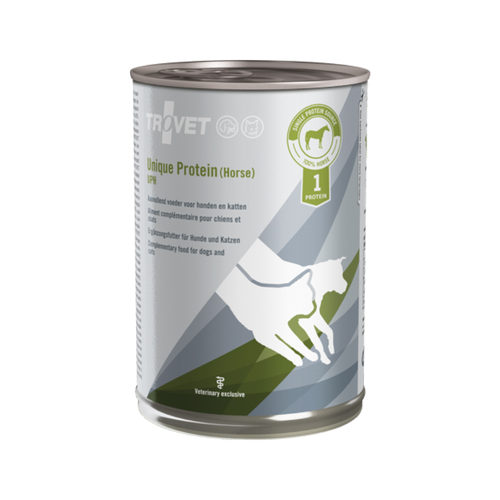 TROVET Unique Protein (Paard) UPH - 6 x 400 g | Petcure.nl