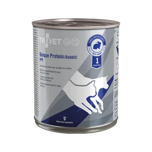 TROVET Unique Protein (Konijn) UPR - 6 x 400 g