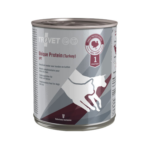TROVET Unique Protein UPT (Turkey) UPT - 6 x 800 g